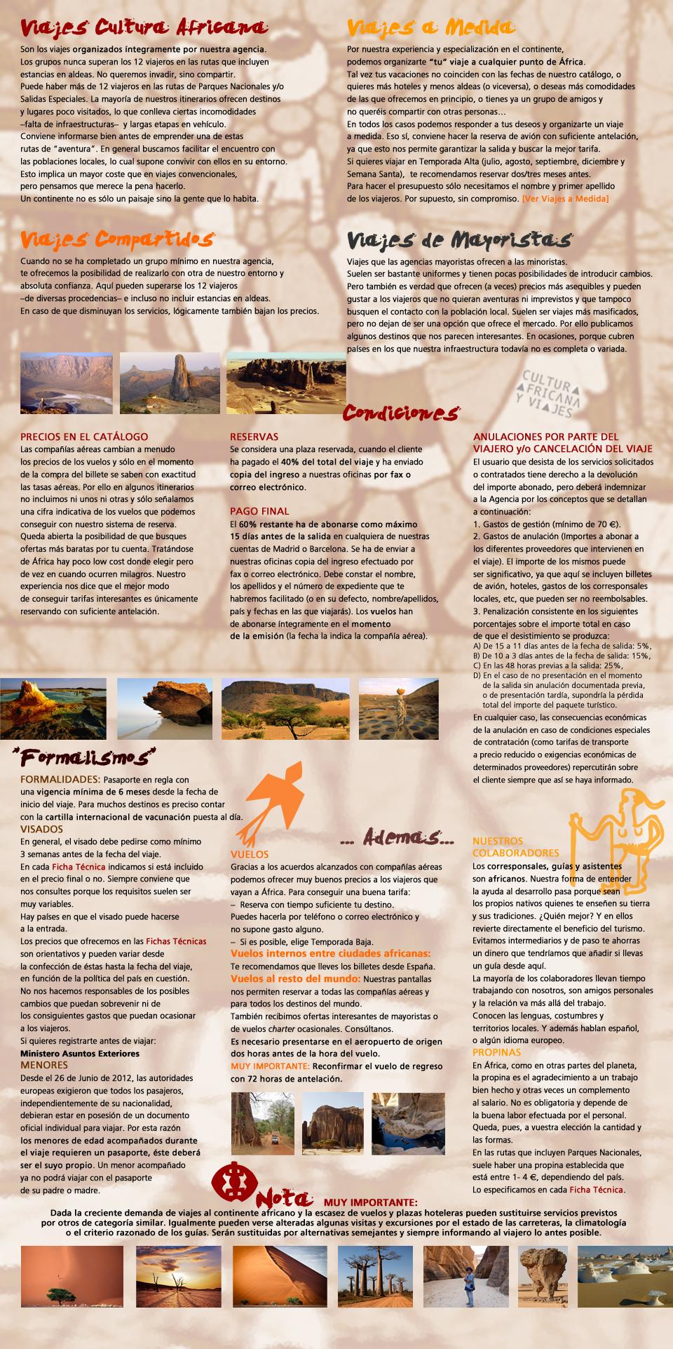 Viajes Cultura Africana y Viajes
