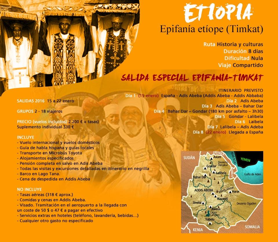 Viaje África Etiopía Timkat