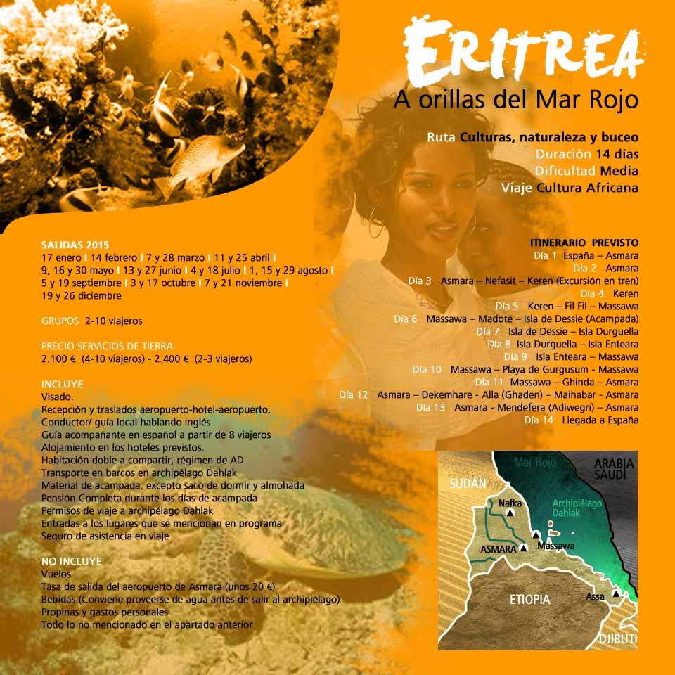 Viaje Eritrea - A orillas del Mar Rojo