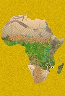 Mapa viaje Mozambique