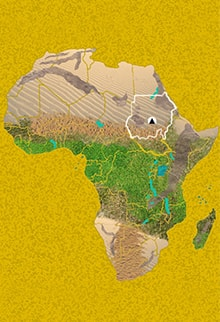 Mapa Viaje Sudán