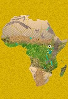 Mapa viaje Uganda