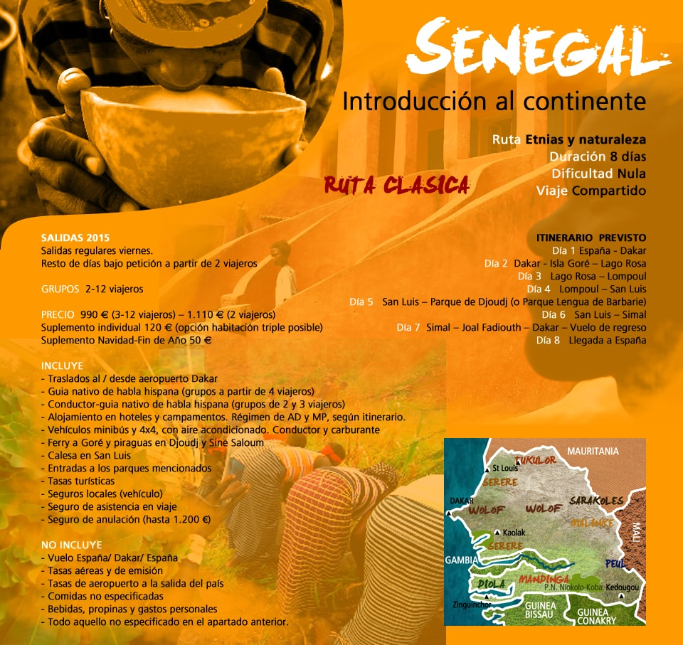 Viaje Senegal - Introducción al continente