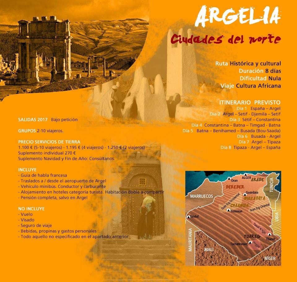 Viaje Argelia - Ciudades del Norte