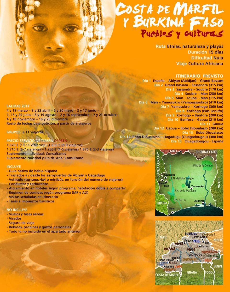 Viaje a Costa de Marfil y Burkina Faso - Pueblos y culturas