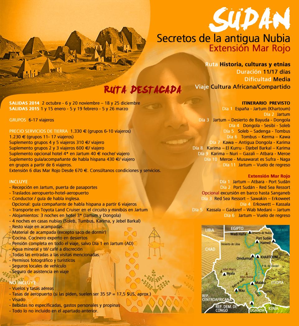 Viaje a Sudán - Secretos de la Antigua Nubia