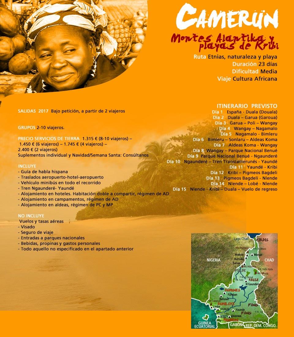 Viaje Camerún. Parque y playas