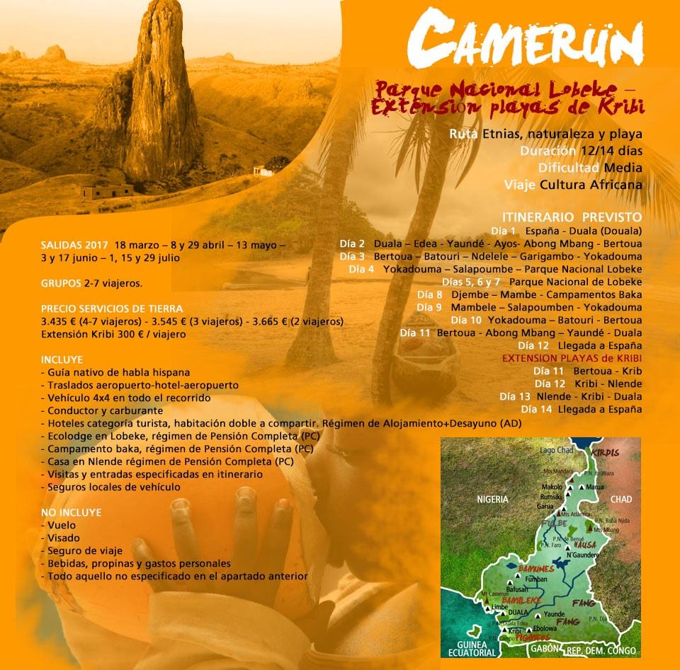 Viaje a Camerún - Norte y Sur