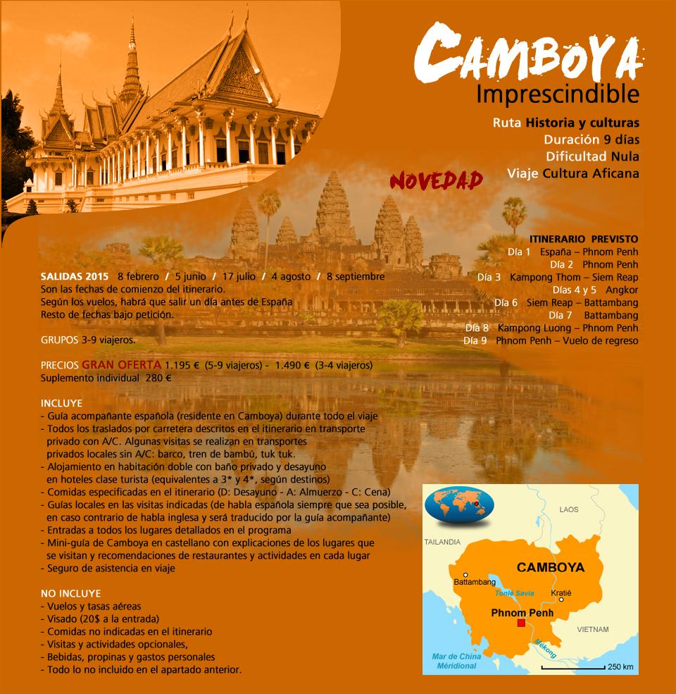 Viaje Camboya - Imprescindible