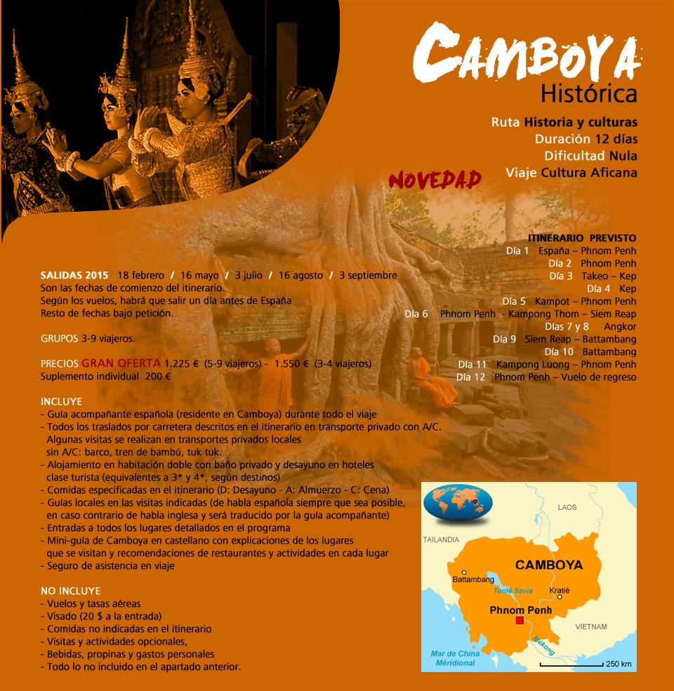 Viaje Camboya - Histórica