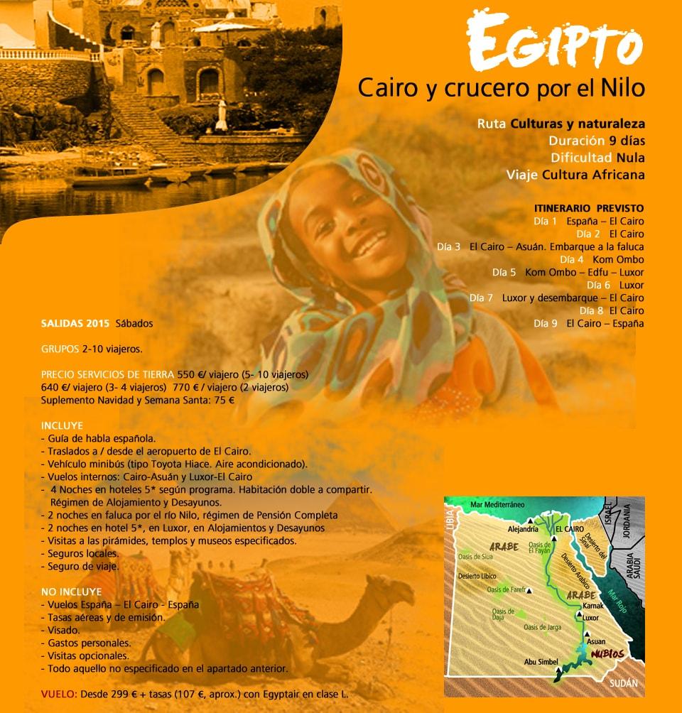 Viaje Egipto - Cairo y crucero por el Nilo