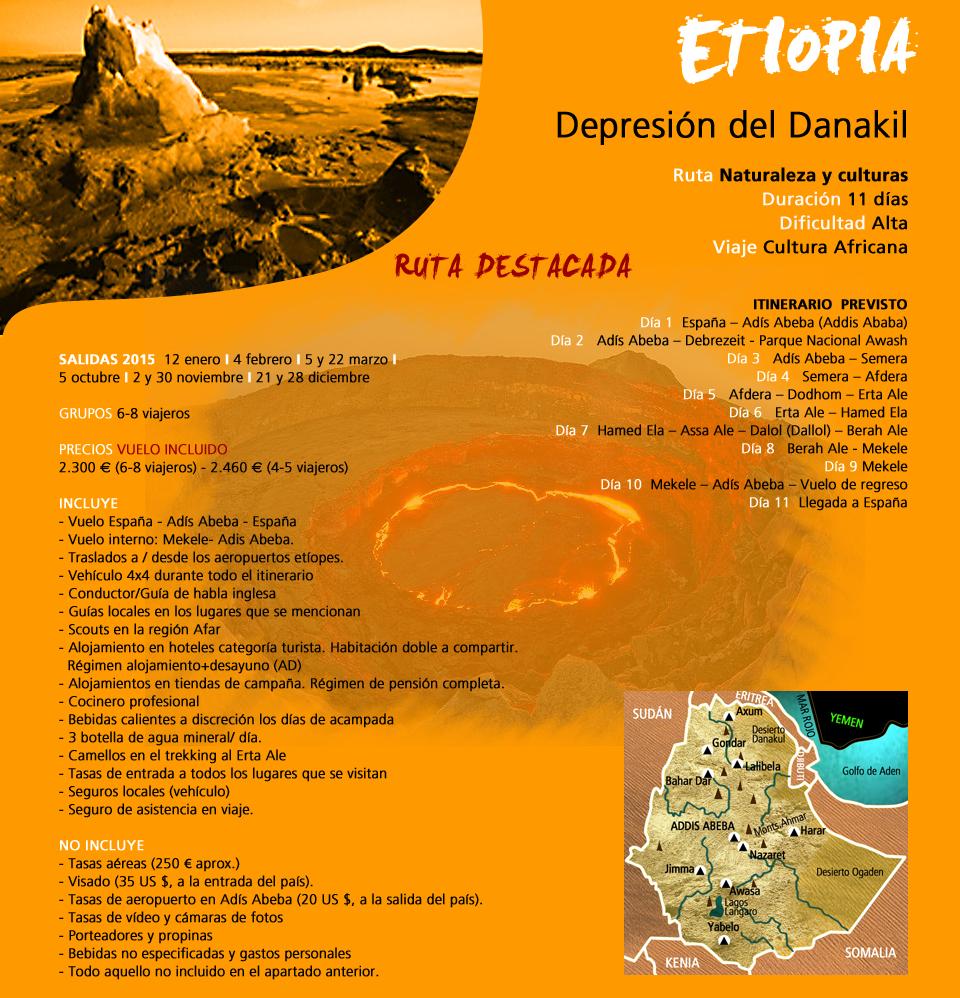 Viaje a Etiopía - Depresión del Danakil
