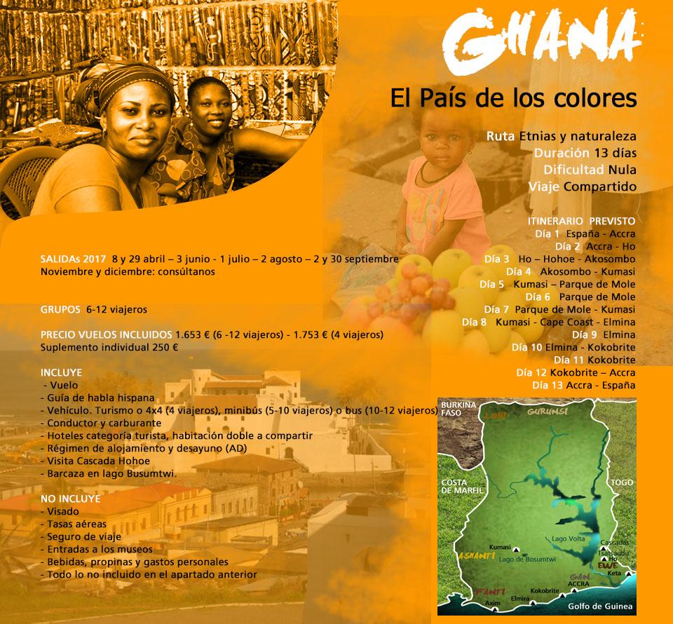 Viaje Ghana - África