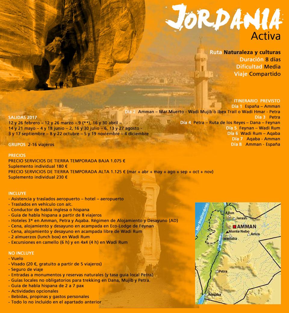 Viaje Jordania - activa - regular