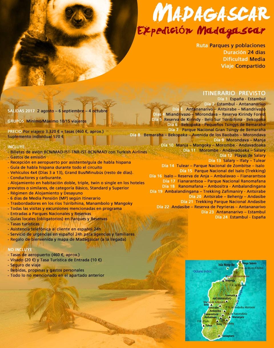 Viaje Madagascar - Expedición Madagascar