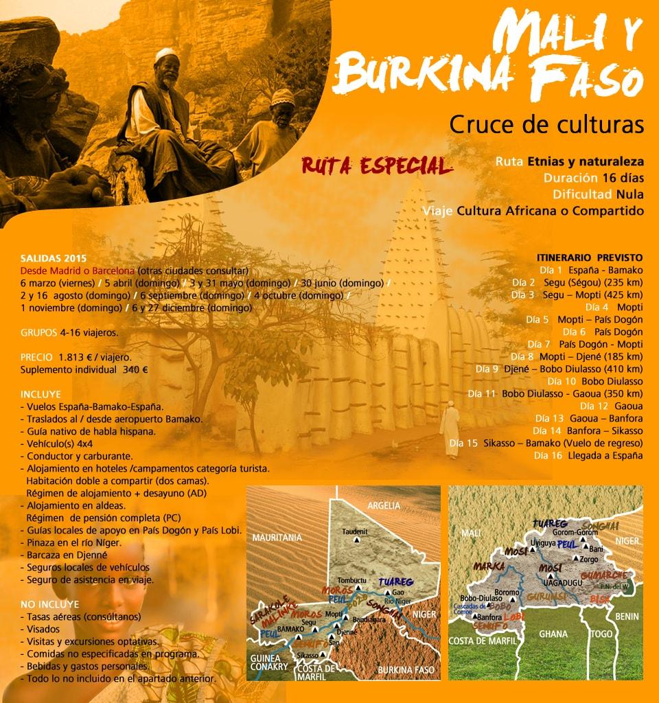 Viaje Malí y Burkina Faso