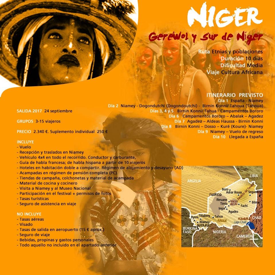 Viaje a Niger - Gerero con los Bororo