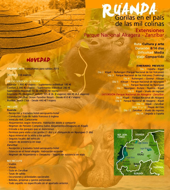Viaje Ruanda - Gorilas