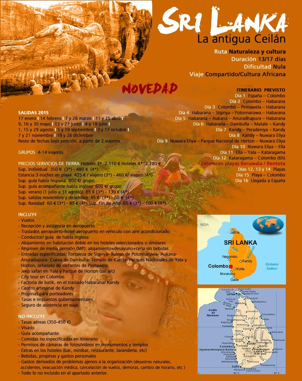 Viaje Sri Lanka - La antigua Ceilan
