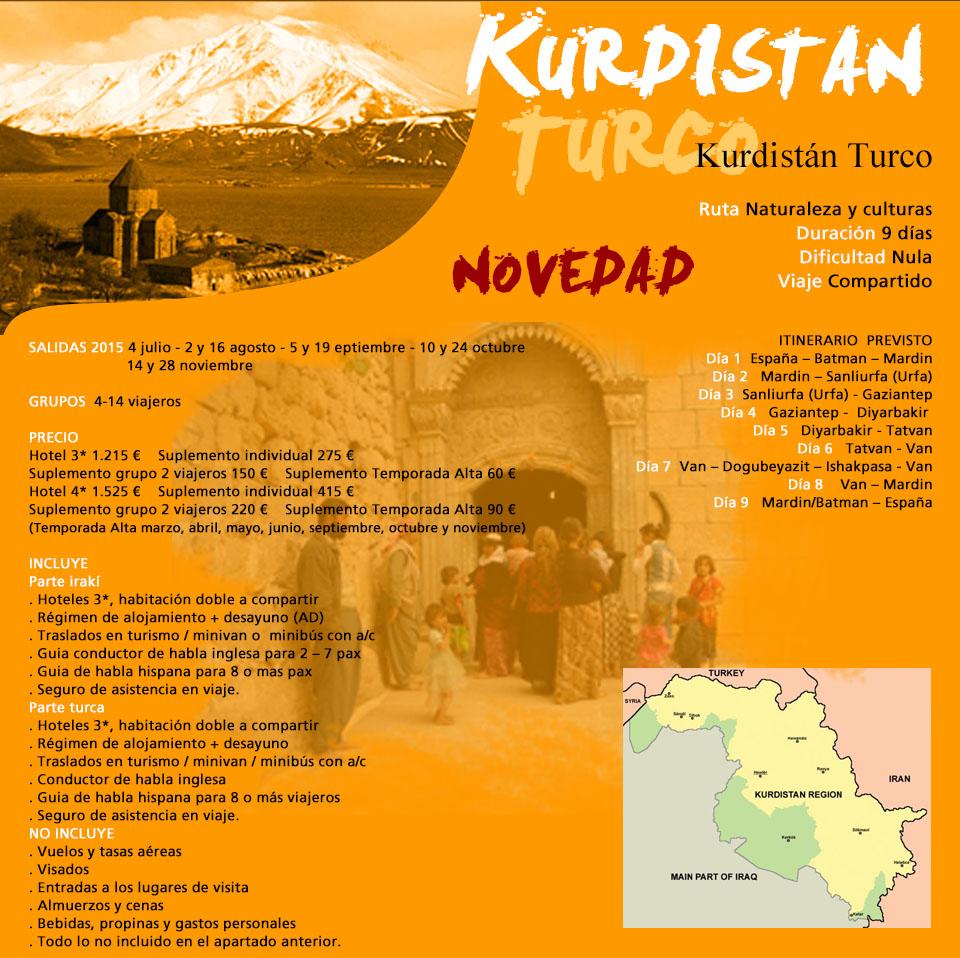 Viaje Kurdistán Turco