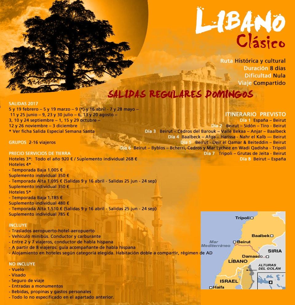 Viaje Líbano Beirut