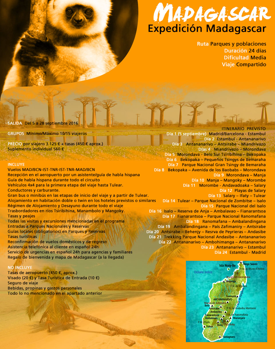 Viaje Madagascar-Lemur