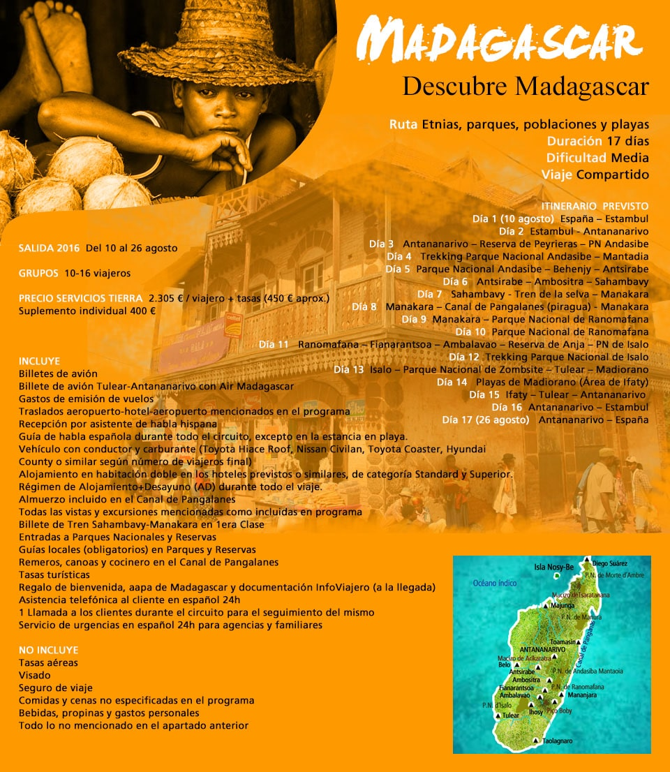 Viaje a Madgascar - Descubre
