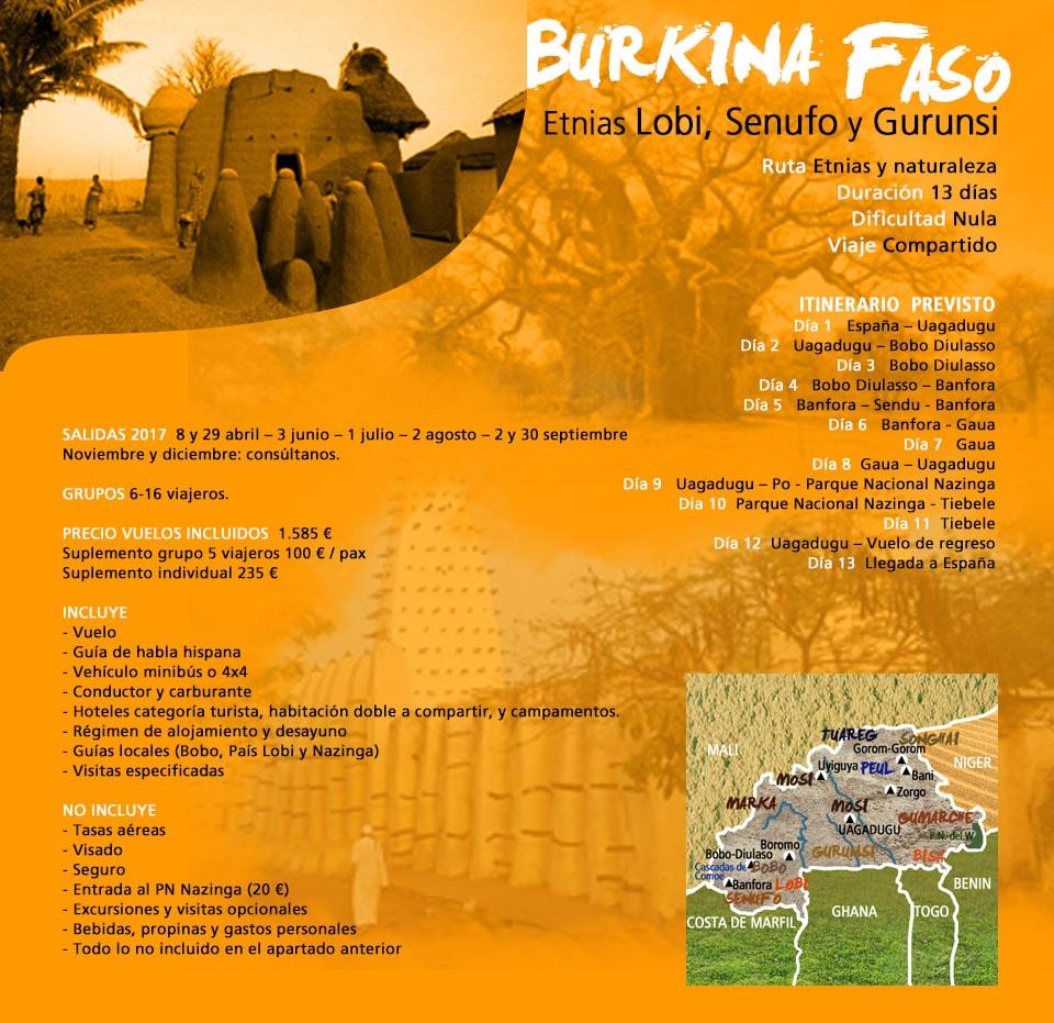 Viaje Burkina Faso - Etnias