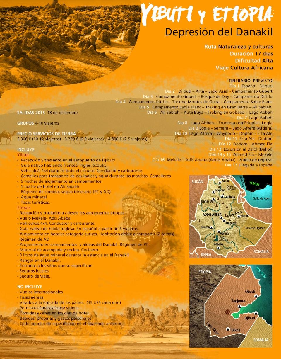 Viaje Yibuti y Etiopía - Danakil