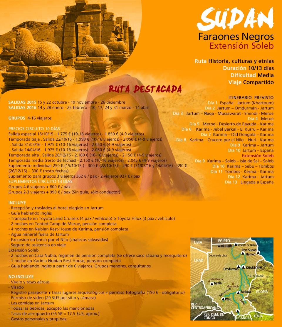 Viaje a Sudan - Faraones Negros