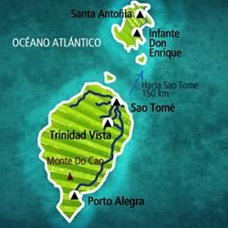 Mapa Santo Tomé. Información