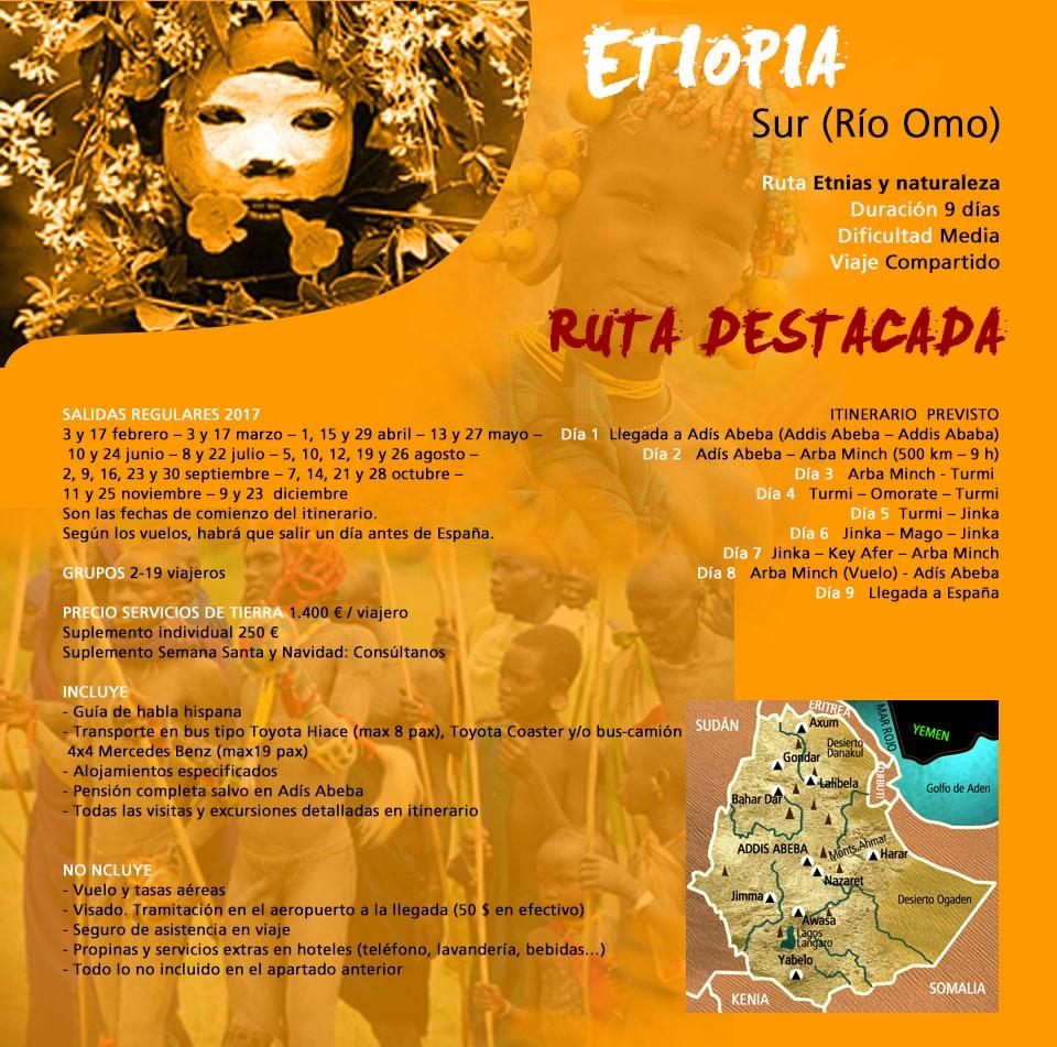 Viaje Etiopía - Sur (Río Omo)