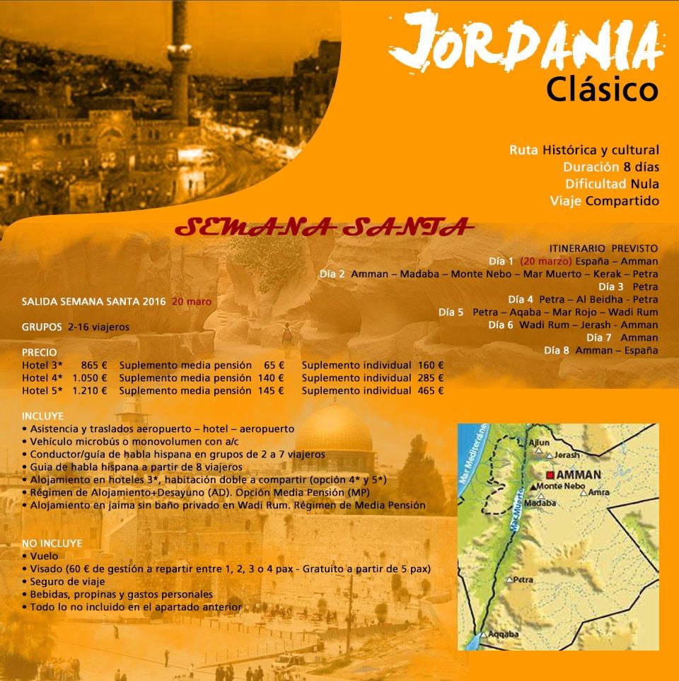 Viaje Jordania fin de año