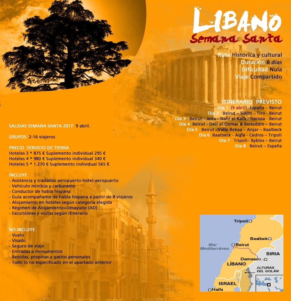 Viajar a Líbano - Beirut y Baalbeck