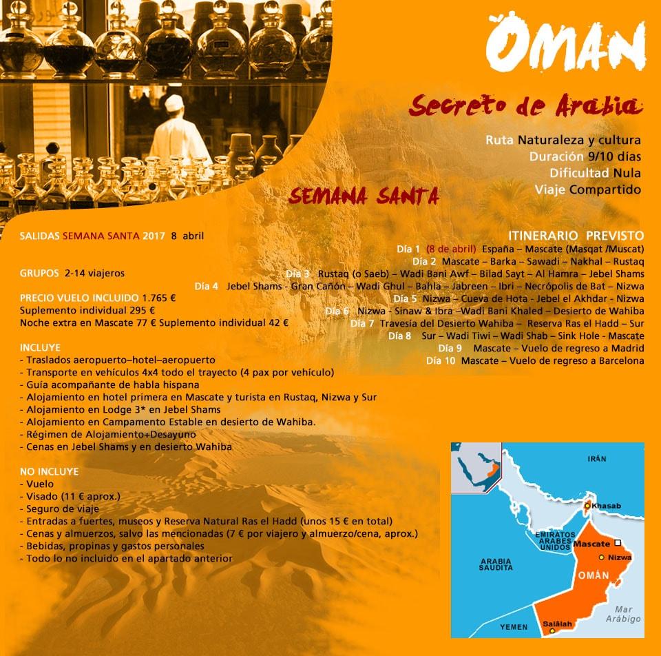 Viaje Desierto - Omán