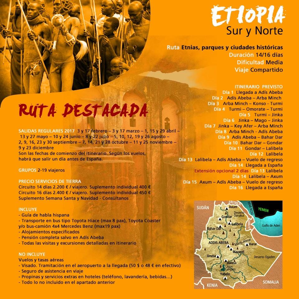 Viaje  Etiopía Sur y Norte