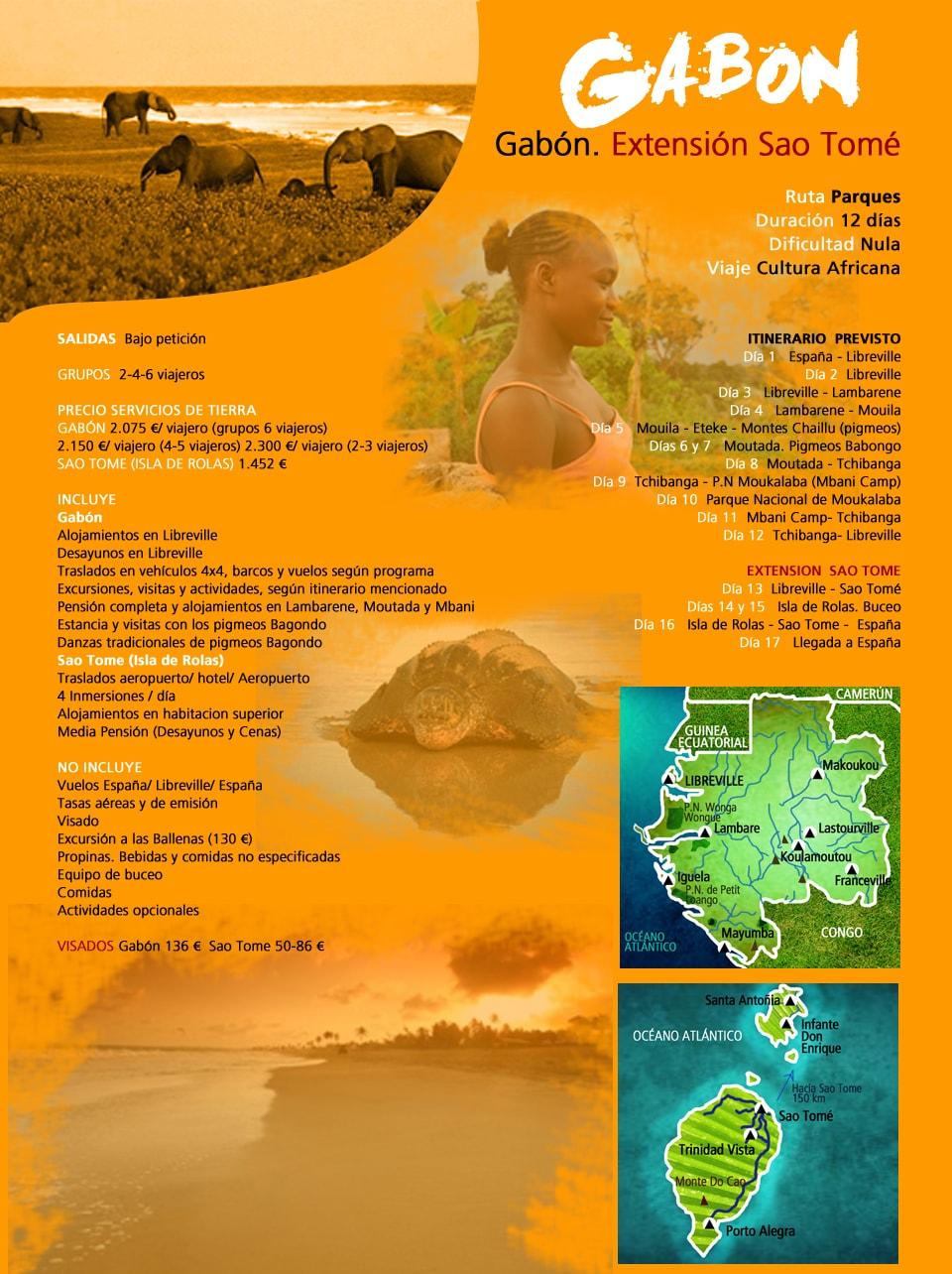 Viaje Gabón