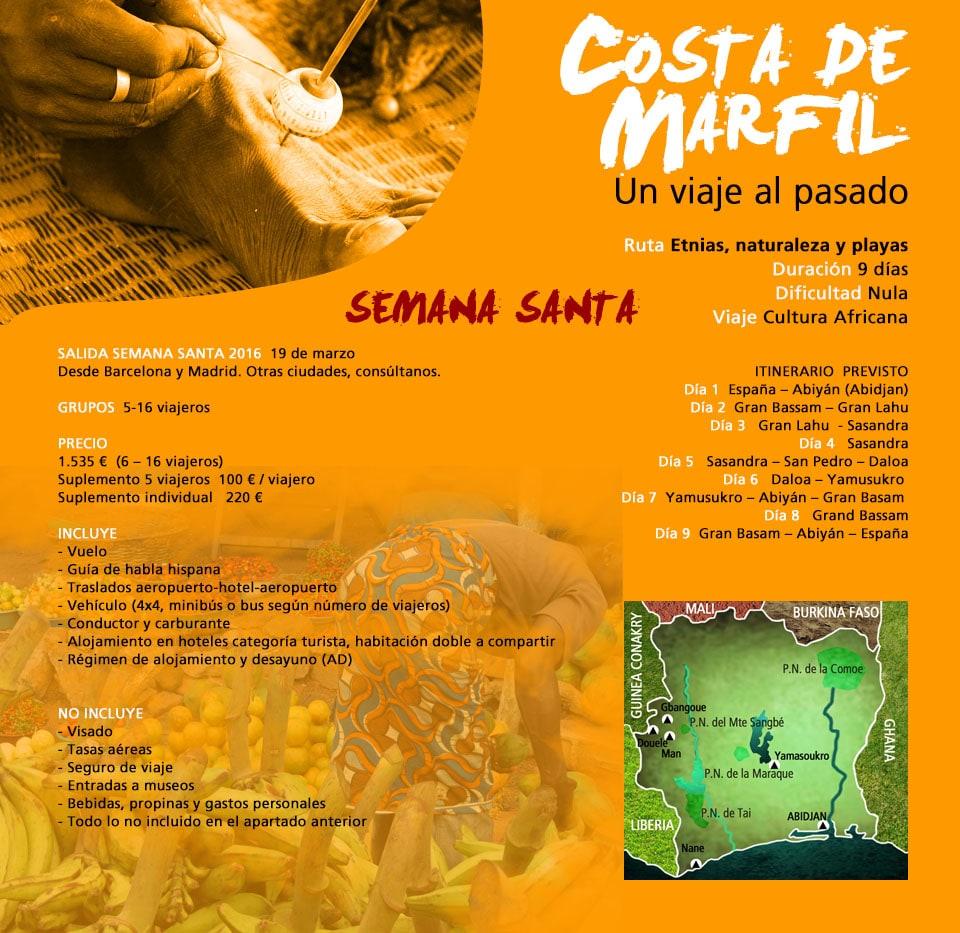 Viajar a Costa de Marfil - Semana Santa
