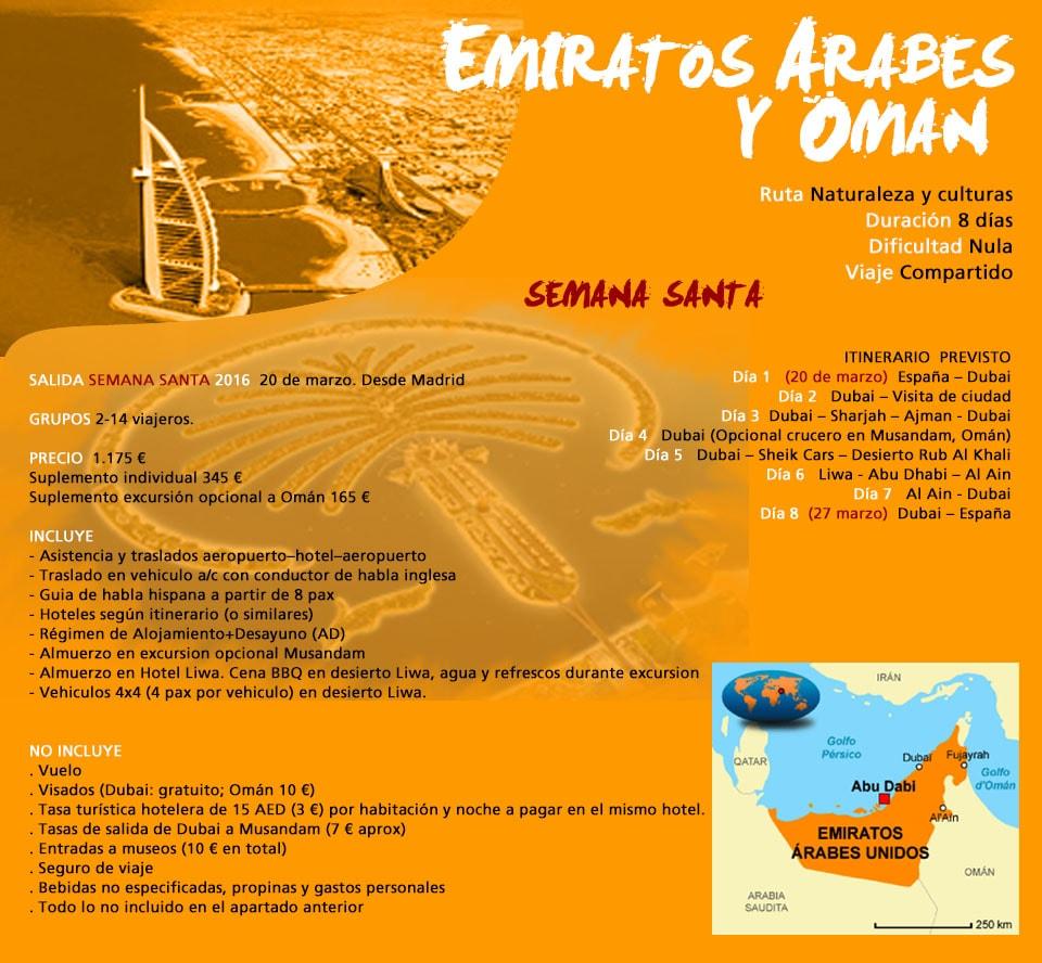 Viaje Emiratos Árabes
