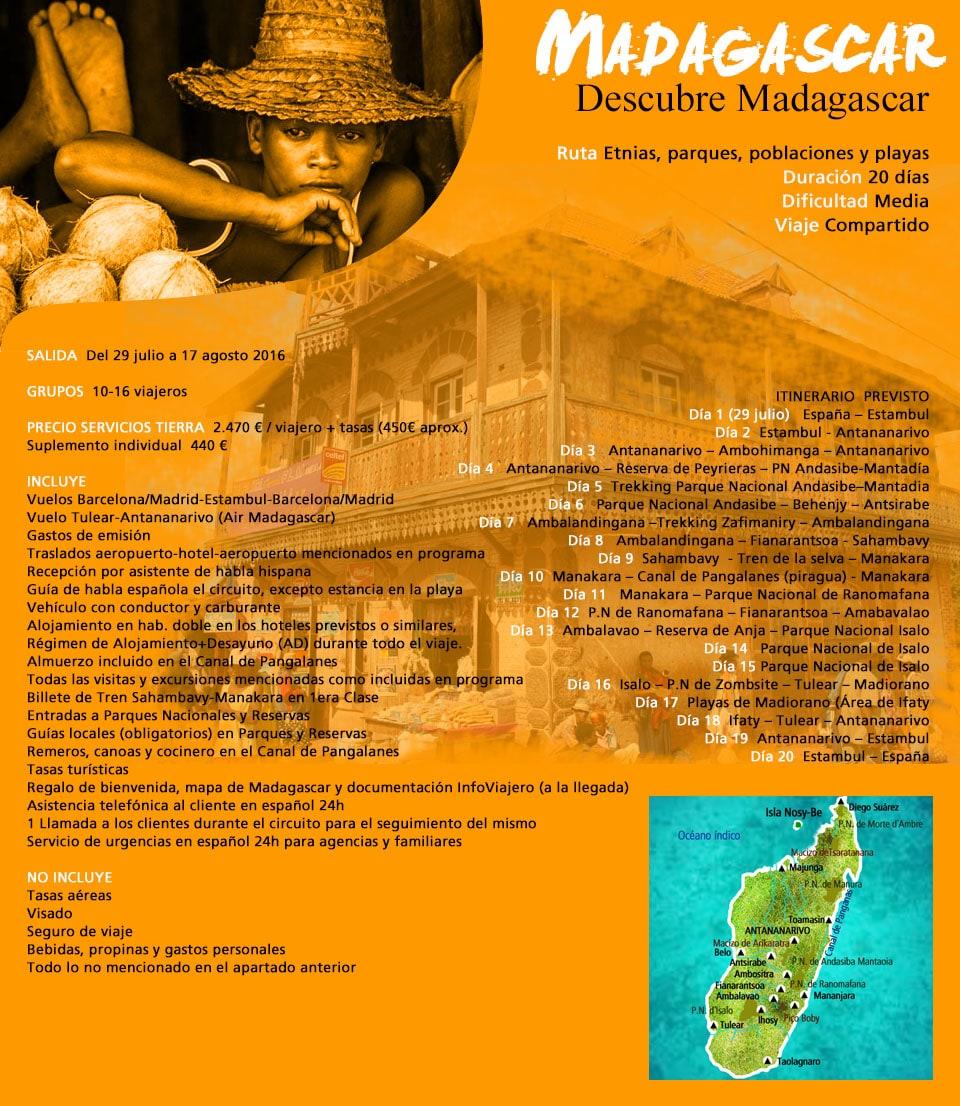 Viaje Madagascar - África