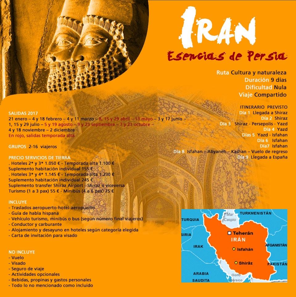 Viaje Irán - Lo imprescindible