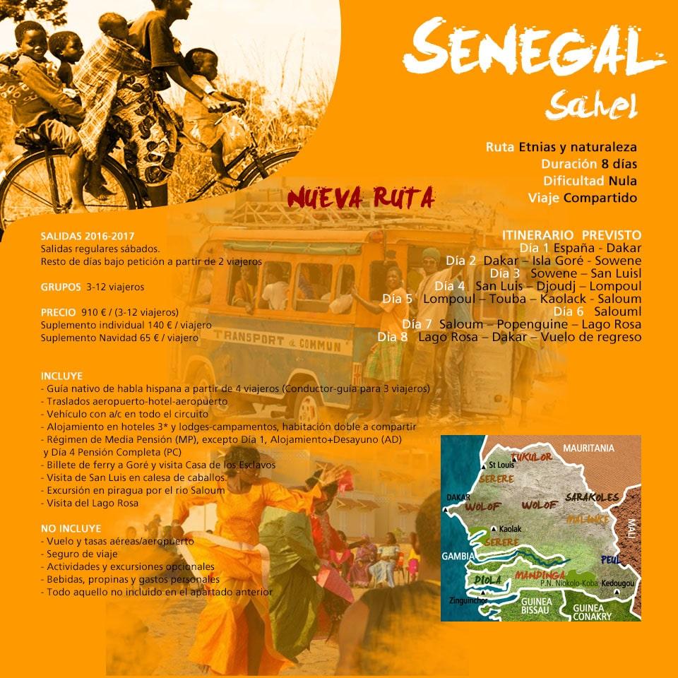 Viaje a Senegal - Sahel