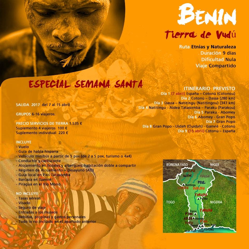 Viaje a Benín - Abomey y Ganvié