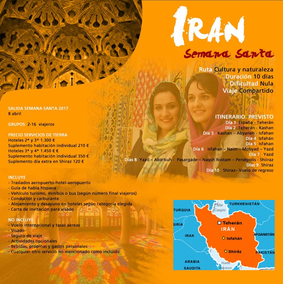 Viaje Irán - Esencias de Persia