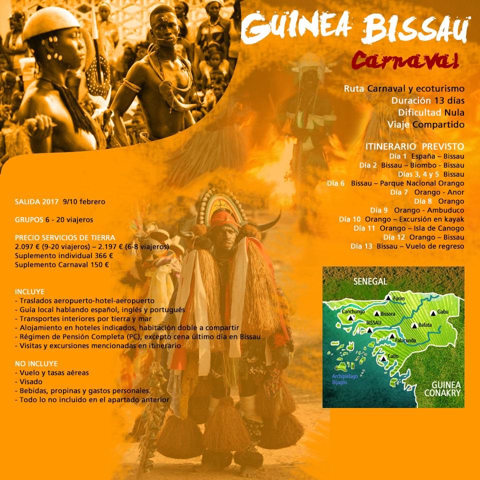 Viaje Guinea Bissau - Islas Salvajes