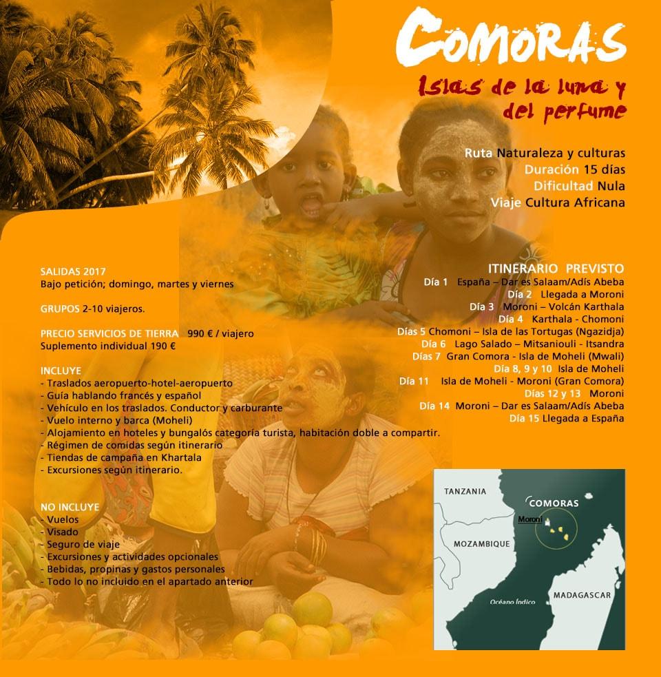 Comoras - Islas de la luna y del perfume